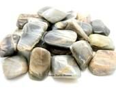 One Black Moonstone Tumbled Stone, Large, Chunky, Premium, Gemstone, Feminine, Goddess, Luna, Moon, Crystal Healing, Stones, Gemstones,