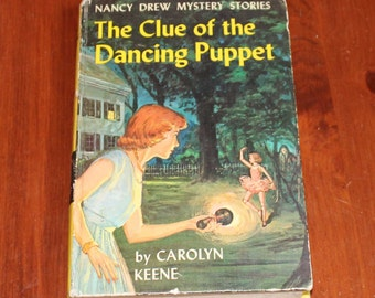 Nancy Drew, The Clue of the Dancing Puppet, 1962