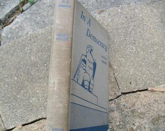 Vintage Book In A Democracy