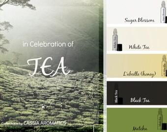 Tea Fragrance Collection - In Celebration of Tea 5 Fragrances