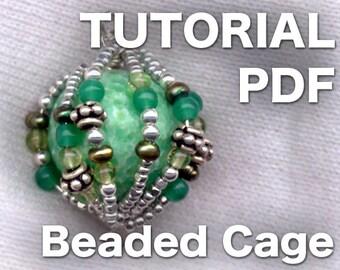 Beaded Caged Bead PDF Tutorial