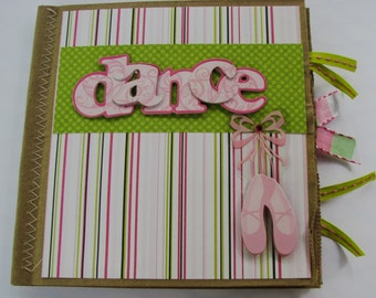Dance Paperbag Scrapbook