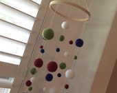 Reserved for Brynn - Needle Felted Gumball Mobile