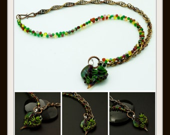Froggy Woggy Doodle All The Day Tutorial - Chainmaille and Stringing
