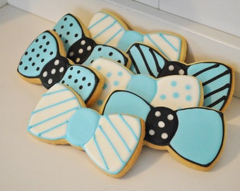 Father's day Bowtie Cookies