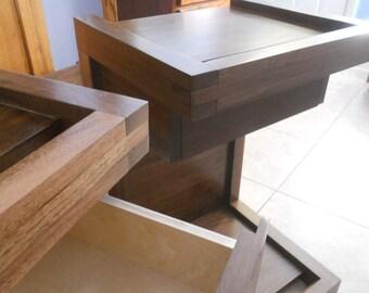C-shape  nightstand