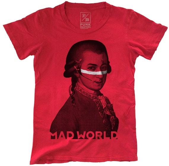 Amadeus Ant, 100 Percent Cotton T-shirt, Vintage Red, unisex