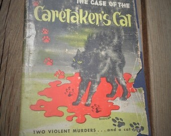 The Case of the Caretaker's Cat Book By Erle Stanley Gardner Copyright 1935