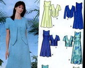 Simplicity 5660 Easy Dress and Jacket Pattern Sizes 18W-24W