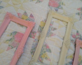Shabby Chic Ornate picture frames