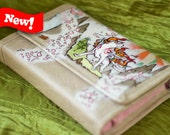 Premium 3DS XL Hard Case Hand Painted with Okami design