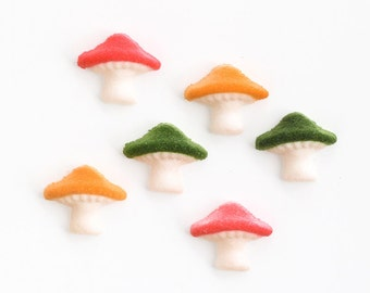 Mushroom Edible Sugar Decorations for Cupcake and Cake Decorating (12)