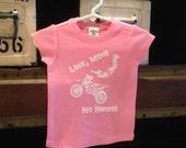Dirt Bike Girl- Look Mom, No Hands