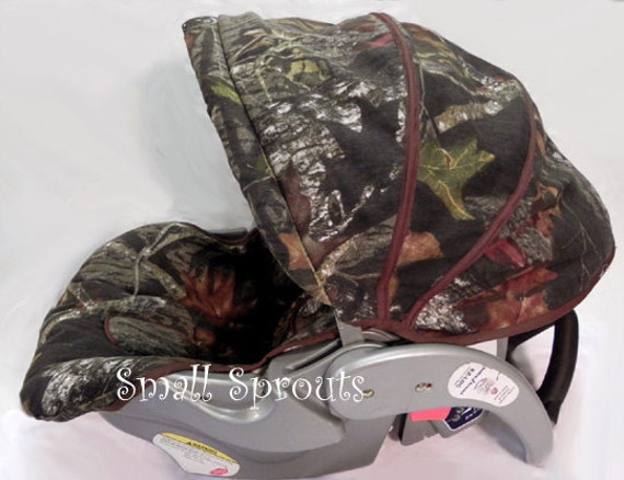 Custom Boutique Mossy Oak Camo Infant Car Seat Cover 5 piece set