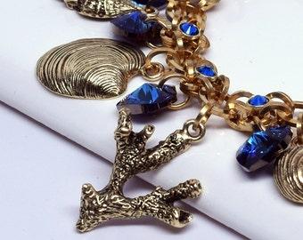 Kit - Seaside Elemental Charm Bracelet