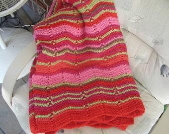 Crochet Afghan full of Color