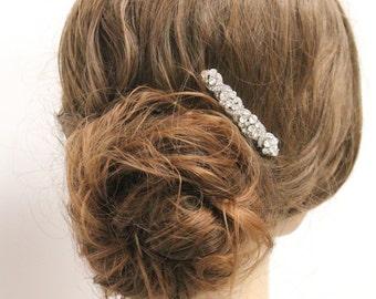 Wedding hair comb crystal bridal comb wedding hair piece bridal hair accessory wedding headpiece bridal hair comb wedding hair accessory