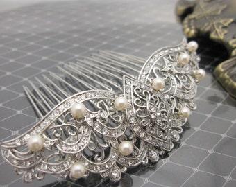 Wedding hair jewelry bridal hair comb bridal hair accessories wedding headpiece bridal hairpiece wedding hair accessories bridal jewelry