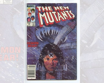 Marvel The New Mutants #18 Aug 1984