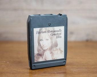Barbara Streisand's Greatest Hits - 8 Track Tape