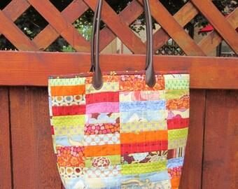Lotsa Strips Tote Bag