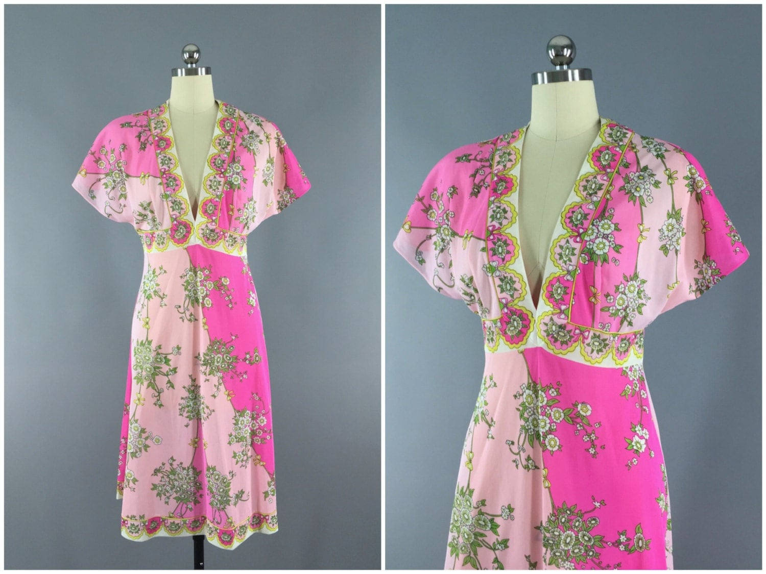 Vintage 1960s Emilio Pucci Nightgown Slip Dress / by ThisBlueBird
