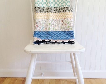 Modern Baby Quilt, Ready to Ship