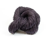 Paper Yarn - Paper Twine: Dark Purple / Aubergine - 131 yards (120m) - Knit, crochet, textile arts, DIY supply