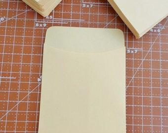 20 Library Card Pockets Non-Adhesive