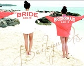 Wedding party jersey, custom billboard jersey, bridesmaids gift, bachlerotte party,