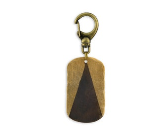 HOLY MOUNTAIN KEYCHAIN : Dogtag Key Chain