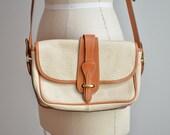 Vintage DOONEY & BOURKE pebbled leather shoulder bag