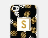 Monogram iPhone 5s Case - iPhone 6 Case Pineapple Phone Case Monogram Phone Case Monogrammed Gifts Pineapple iPhone 5 Case iPhone 5c Case