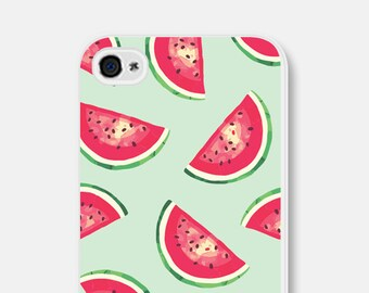 Watermelon iPhone 6s Case iPhone 6 Case Watermelon Samsung Galaxy S5 Case iPhone 5 Case iPhone 6s Plus Case Mint Phone Case Mint iPhone Case