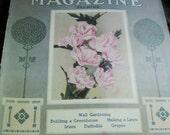 Vintage/Antique The Garden Magazine, September, 1914, Gardeners Information, Advertisements