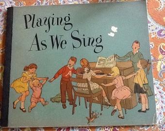 Vintage Piano Music Primer Grade School Book
