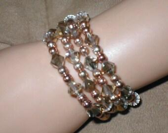 Swarovski GOLD Crystal Bracelet