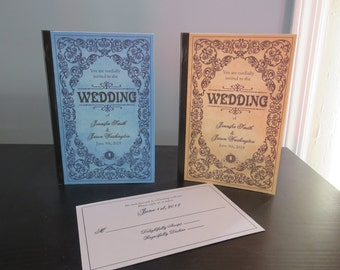 Fairytale Storybook Wedding Invitations