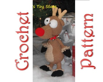 Rudolf A Crochet Pattern by Erin Scull
