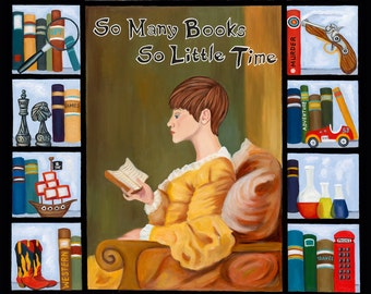 So Many Books So Little Time