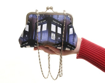 Doctor Who Tardis Evening Bag and Clutch