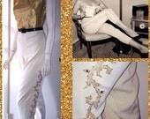 SALE-SALE-SALE Vintage 1950s 1960s Rare Tobi of California Matador Pants Cigarette Pants Plus Size xxl/xxxl