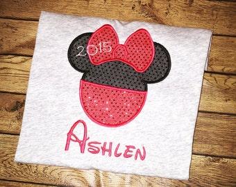 Adult Mickey or Minnie Disney shirt