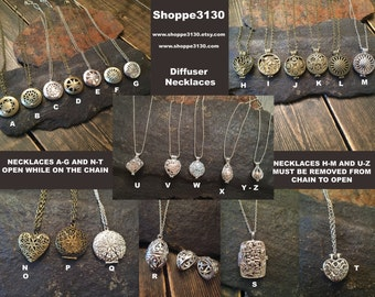 Essential Oil Diffuser Necklace Wholesale Distributor Set of 10 necklaces