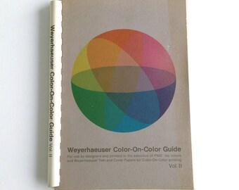 Weyerhaeuser Color on Color Vintage Designer Print Guide