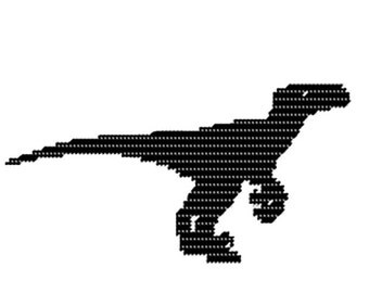 PDF Format T Rex Silhouette
