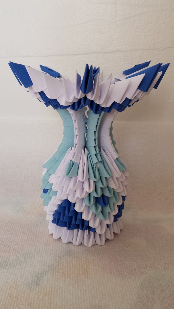 3d origami small vase - photo#25