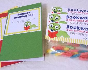 teacher gift, classroom gift, Summer Reading Log, classroom printable, classroom printable, kids activity printable, activity book printable