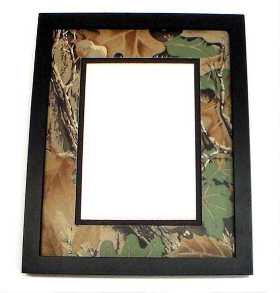 Desktop Picture Frame 8x10 With Camouflage Matting For 5x7