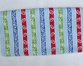 1.75 Yards Vintage Pique Print Fabric, Atomic Stripe